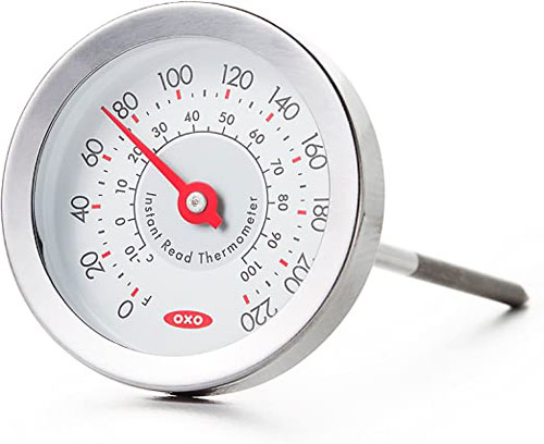 Analog meat thermometers
