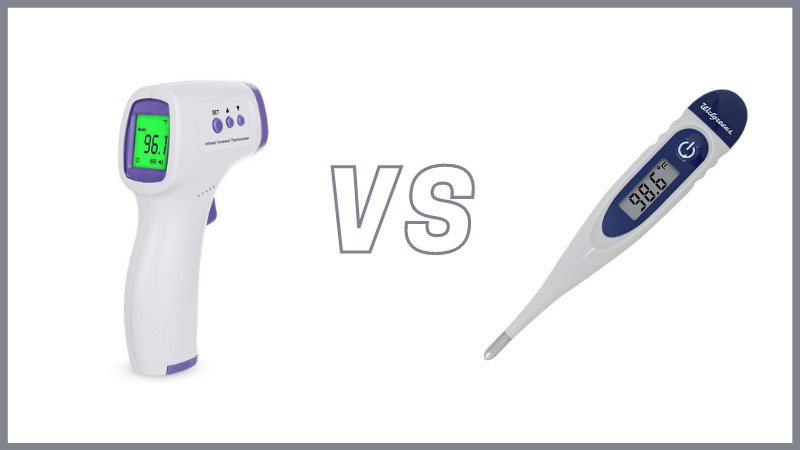Infrared vs Digital Thermometers