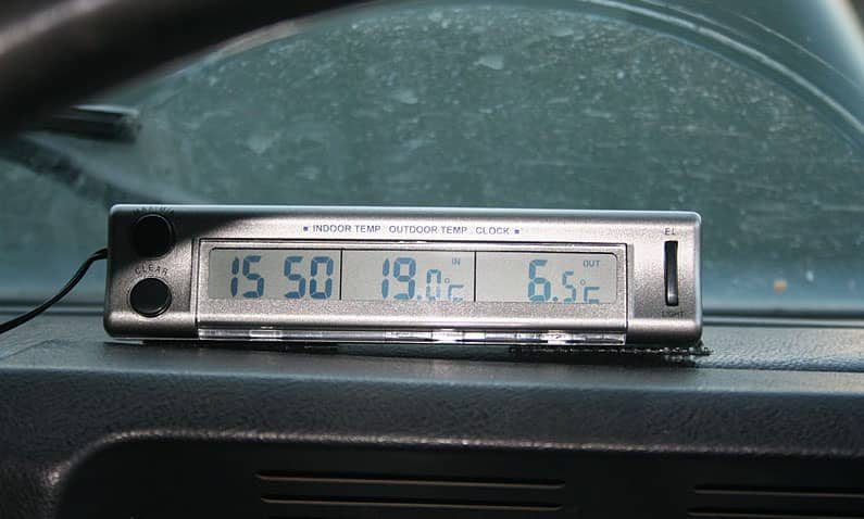 best car thermometer